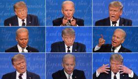 Байден випереджає Трампа за результатами дебатів