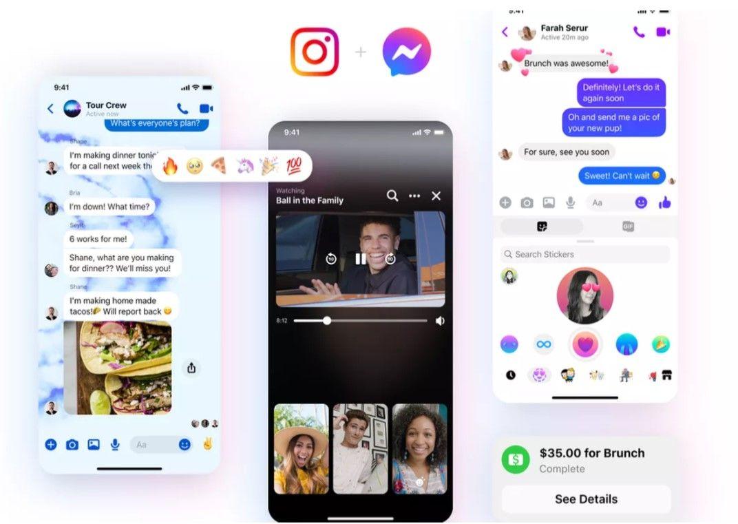 Майже як Instagram. Facebook оновила логотип Messenger і додала нові функції