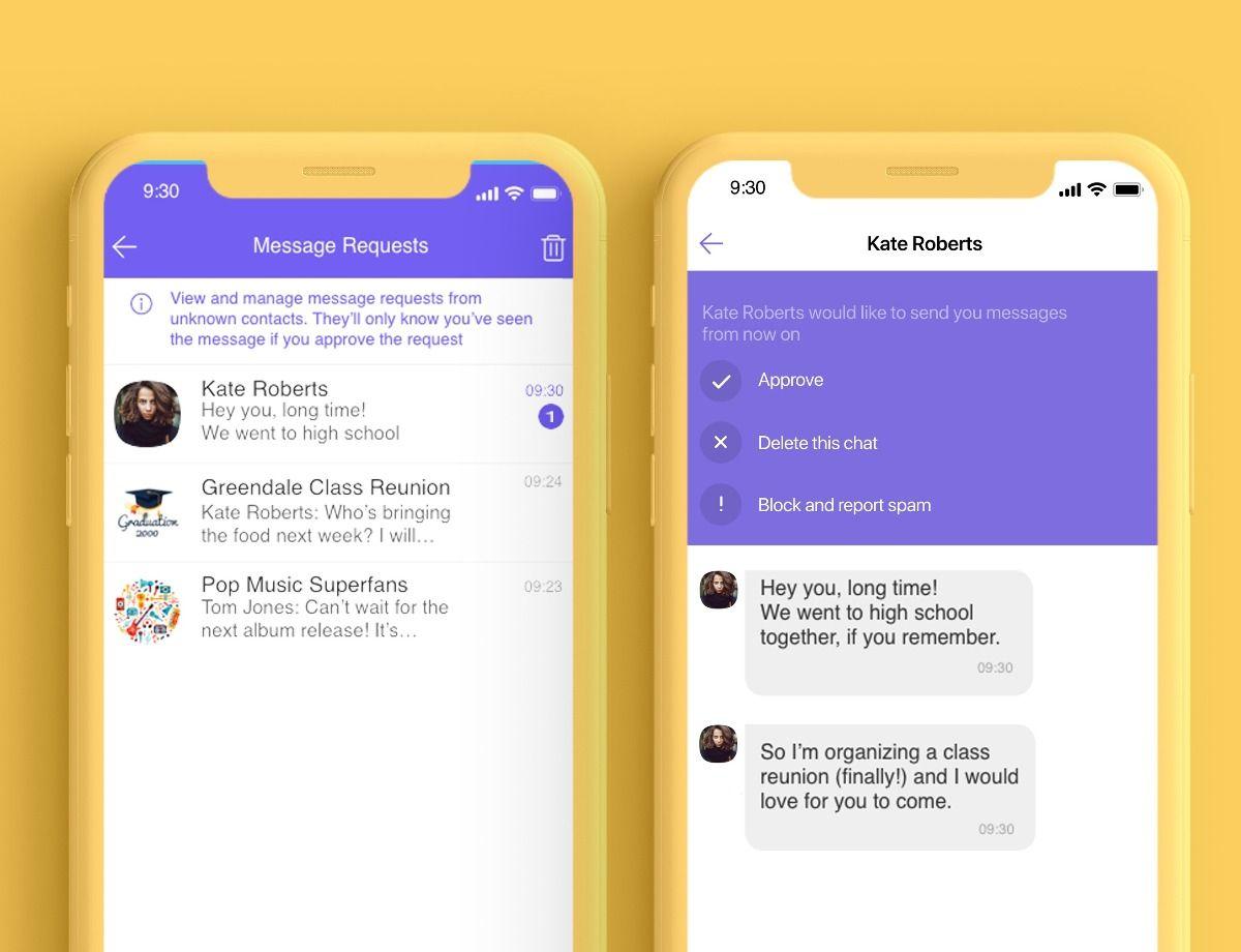 Viber запустив нову функцію, яка допоможе у боротьбі зі спамом
