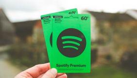 Кількість користувачів сервісу Spotify перевищила 300 млн, у Apple Music – 60 млн