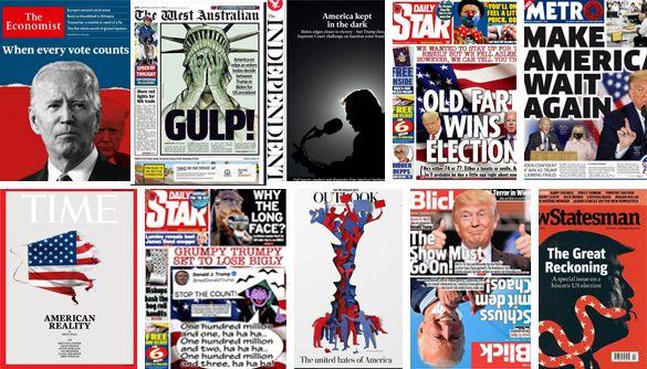 «Виборче чистилище»: що пишуть найбільші ЗМІ про американські вибори