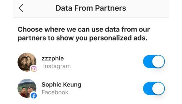 Instagram дозволить користувачам відмовитись від таргетингу реклами