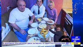 На Прямому каналі годину обговорювали фото Зеленського з батьками — моніторинг