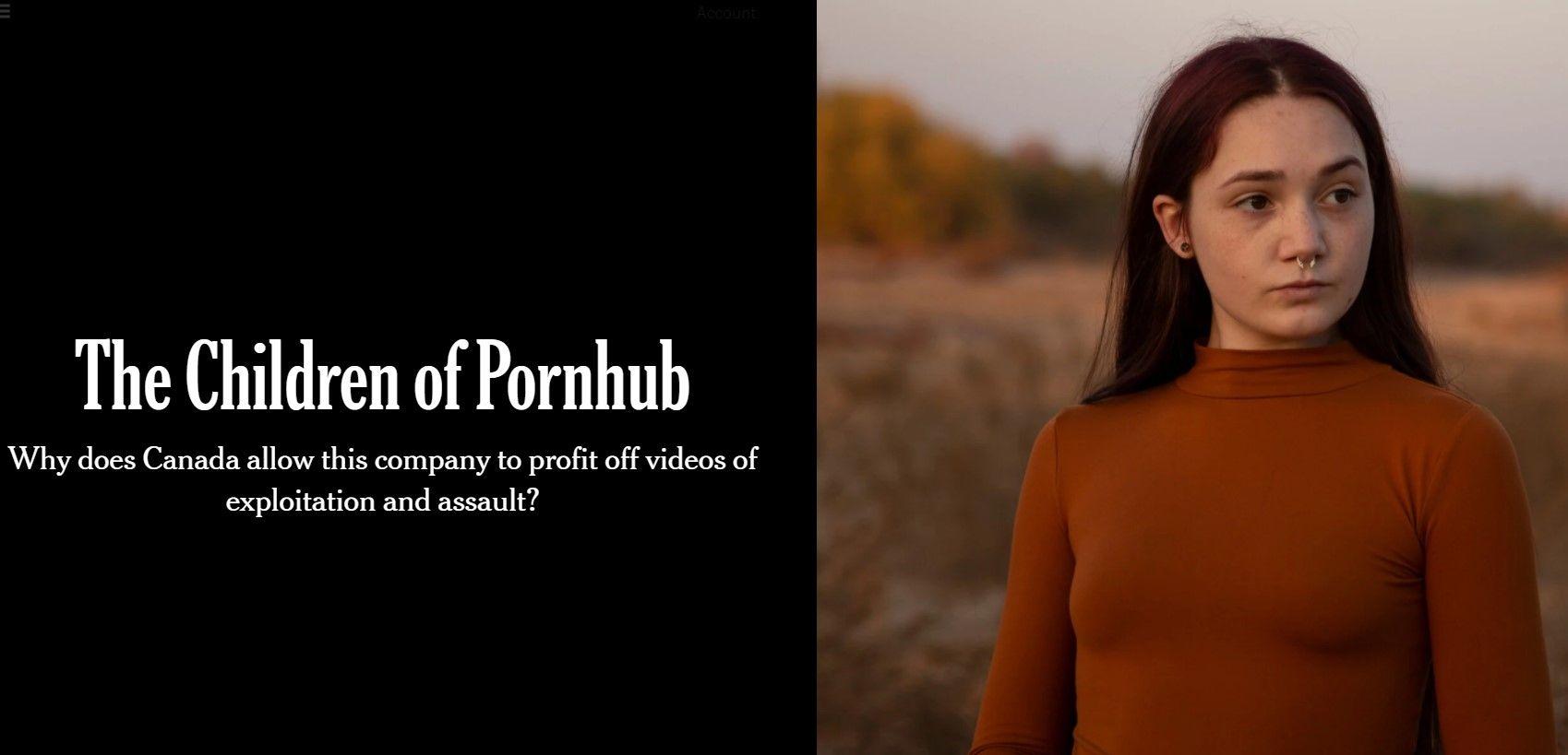 Mastercard проведе розслідування щодо Pornhub. Портал звинувачують у поширенні відео з неповнолітніми