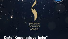 Спільнота «Коронавірус_інфо» увійшла у топ-5 престижної європейської премії