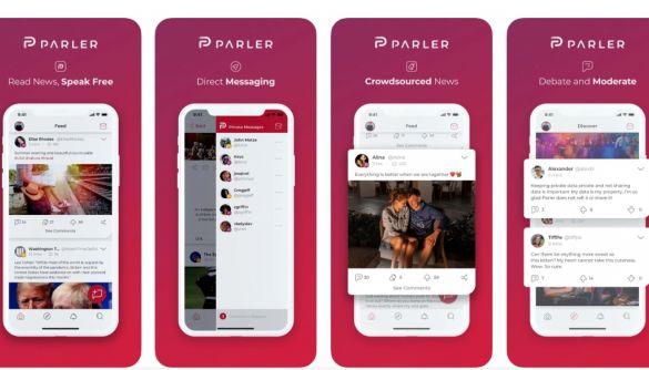 Додаток Parler заблокували в App Store. Раніше це зробив Google Play