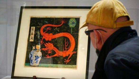 Обкладинку коміксу про Тінтіна продали за рекордні $3,8 млн