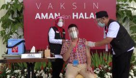 В Індонезії до пріоритетної групи для щеплення від COVID-19 потрапили блогери та зірки Instagram