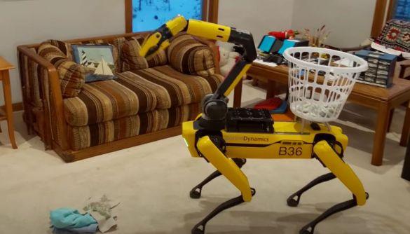 Робот-собака тепер малює, саджає квіти та крутить скакалку для інших роботів (ВІДЕО)
