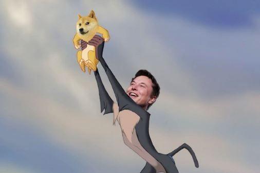 Криптовалюта Dogecoin подорожчала майже в половину через твіт Ілона Маска з єдиним словом