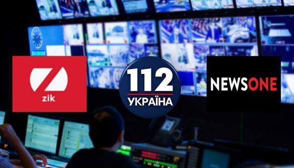 Сайти заблокованих каналів «112», NewsOne і ZIK змінили адреси