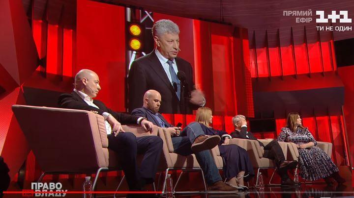 У «Праві на владу» «1+1» Юрія Бойка зобразили українським патріотом — моніторинг
