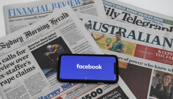 «З важким серцем». Facebook заборонив користувачам та ЗМІ з Австралії публікувати посилання на новини