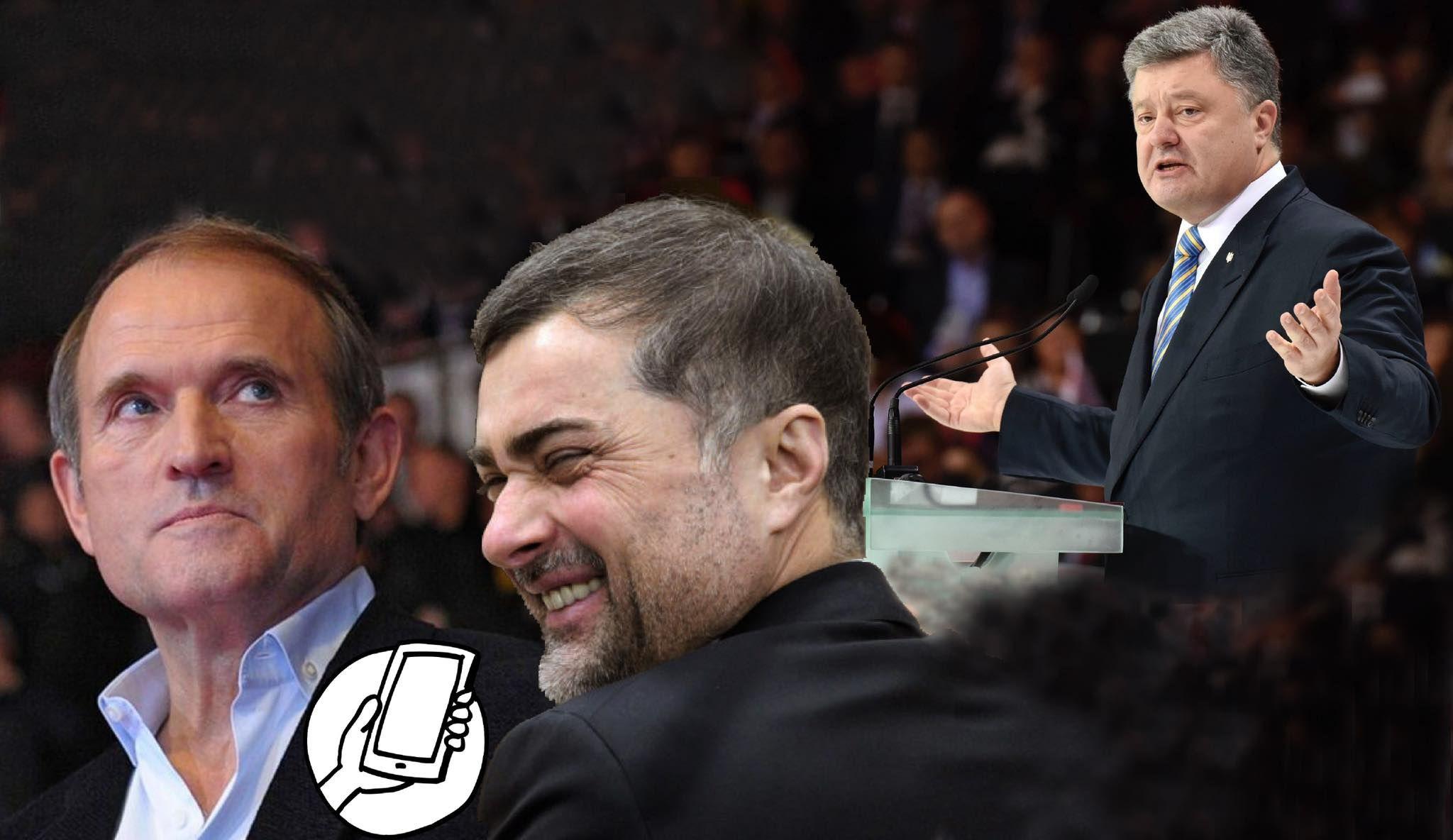 «Хоч із чортом лисим». Кому (не)вигідний запис телефонної розмови Медведчука із Сурковим