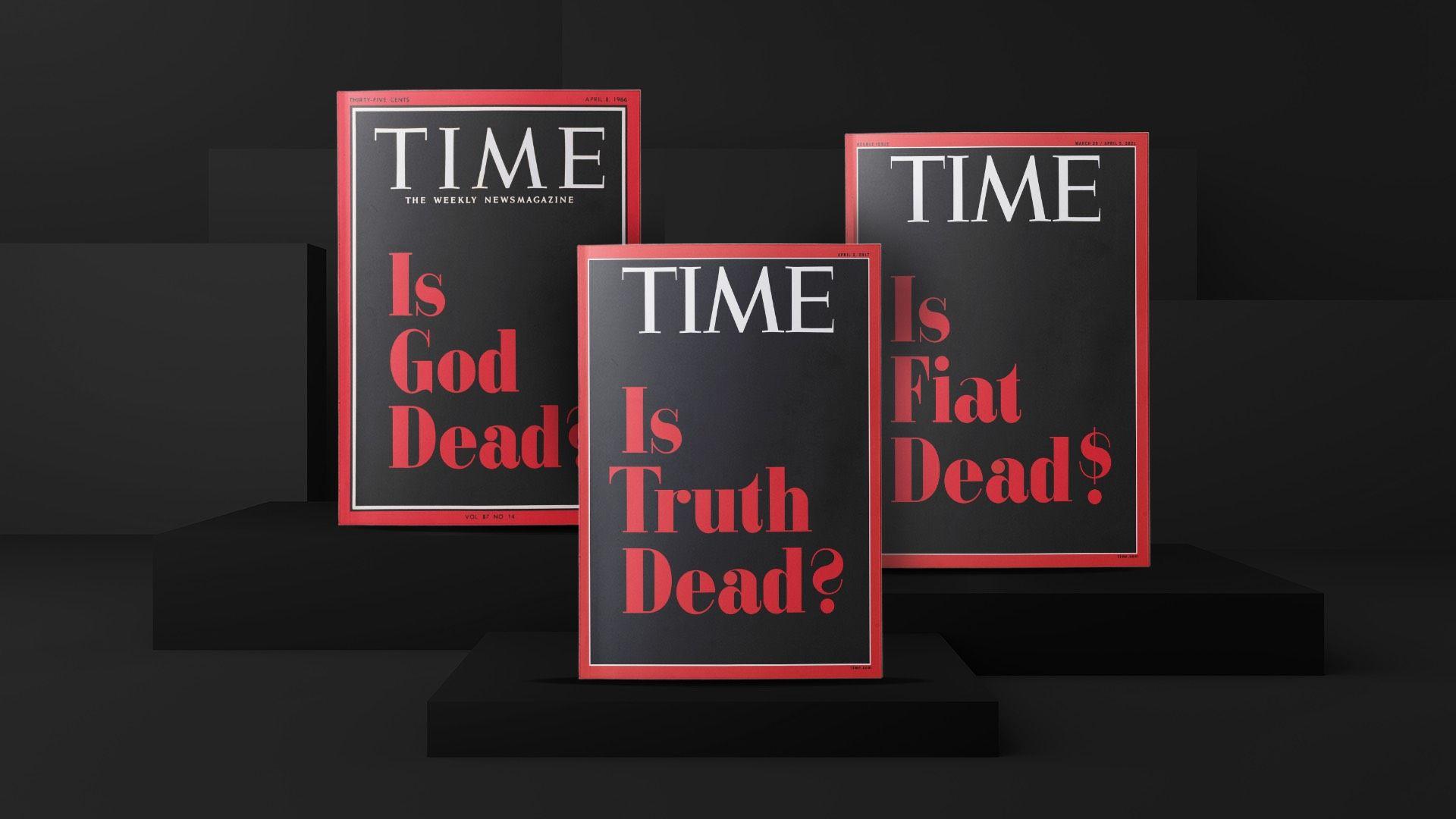 Time виставив на аукціон три обкладинки із найважливішими  запитаннями за всю історію журналу