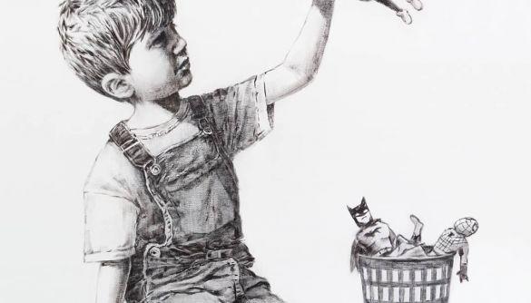 На аукціоні за рекордну ціну продали картину Бенксі, що присвячена медикам під час пандемії