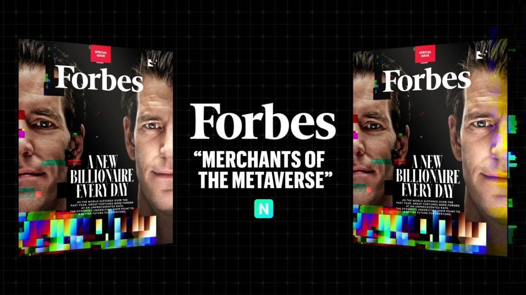 Forbes продав свою обкладинку у вигляді NFT за 333 тис. доларів