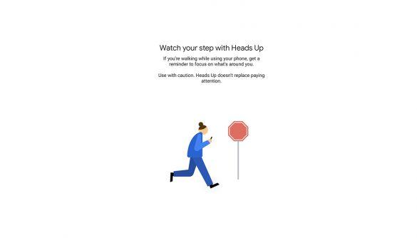 Heads up! Android закликає своїх користувачів не дивитися в екран телефону під час ходьби