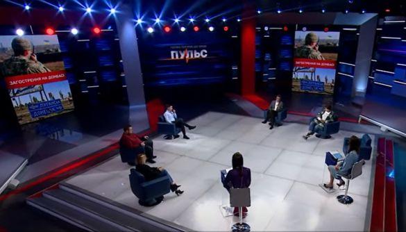 «Наш» і канал Медведчука звинуватили Україну і США в розпалюванні війни з Росією — моніторинг