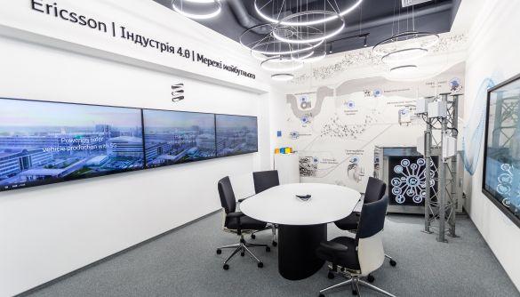 Ericsson відкрила перший в Україні 5G-демоцентр, в якому компанії можуть тестувати нові розробки
