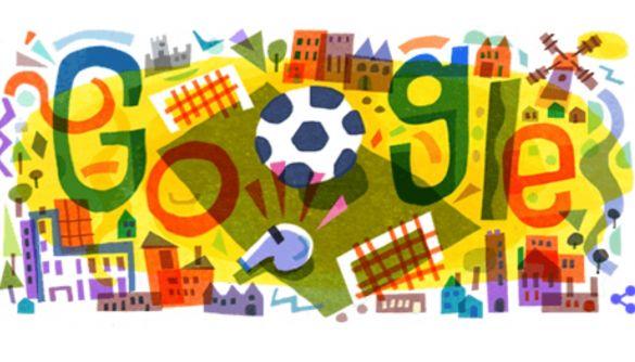 Google присвятив дудл початку Чемпіонату Європи з футболу 2020. Де подивитись відкриття та матчі?