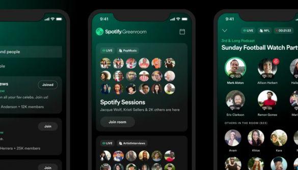 Spotify запустив власний аналог додатку Clubhouse