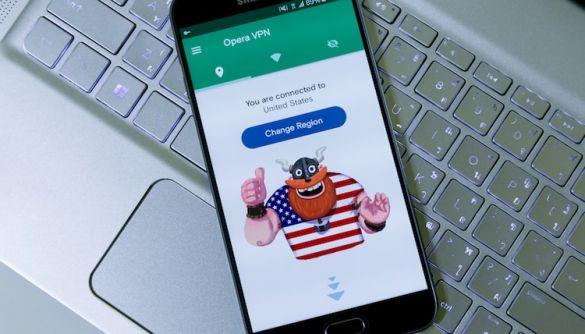 У Росії заблокували використання Opera VPN