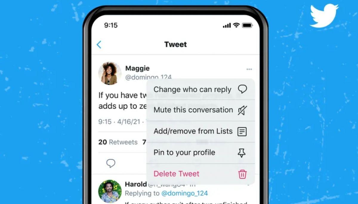 Twitter дозволить змінювати налаштування, хто може відповідати на твіт, вже після його публікації