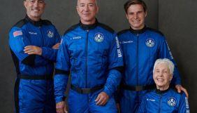 Засновник Amazon Джефф Безос вдало здійснив свій перший політ у космос