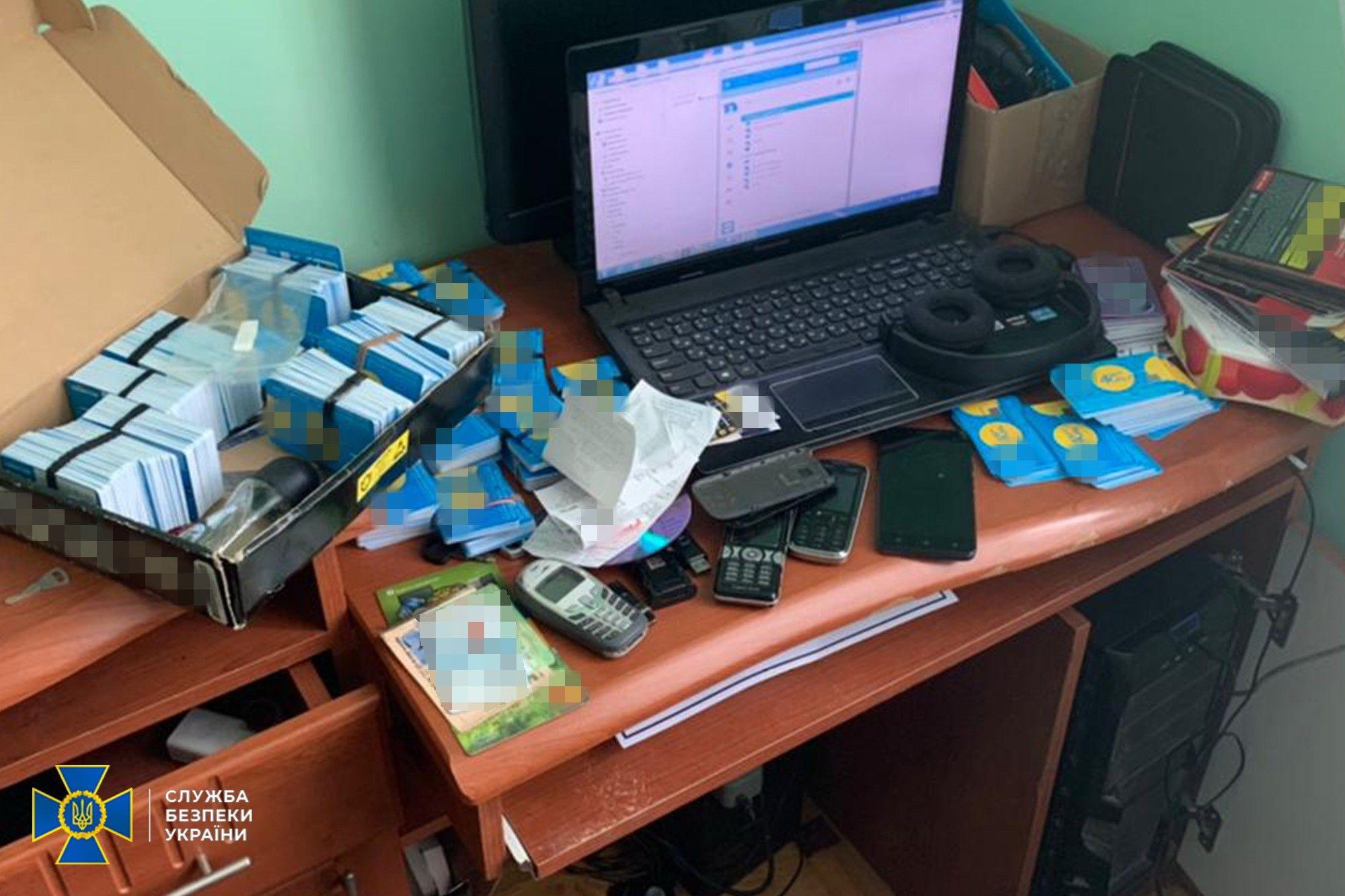 СБУ викрила ботоферму, що працювала на замовлення клієнтів з Росії