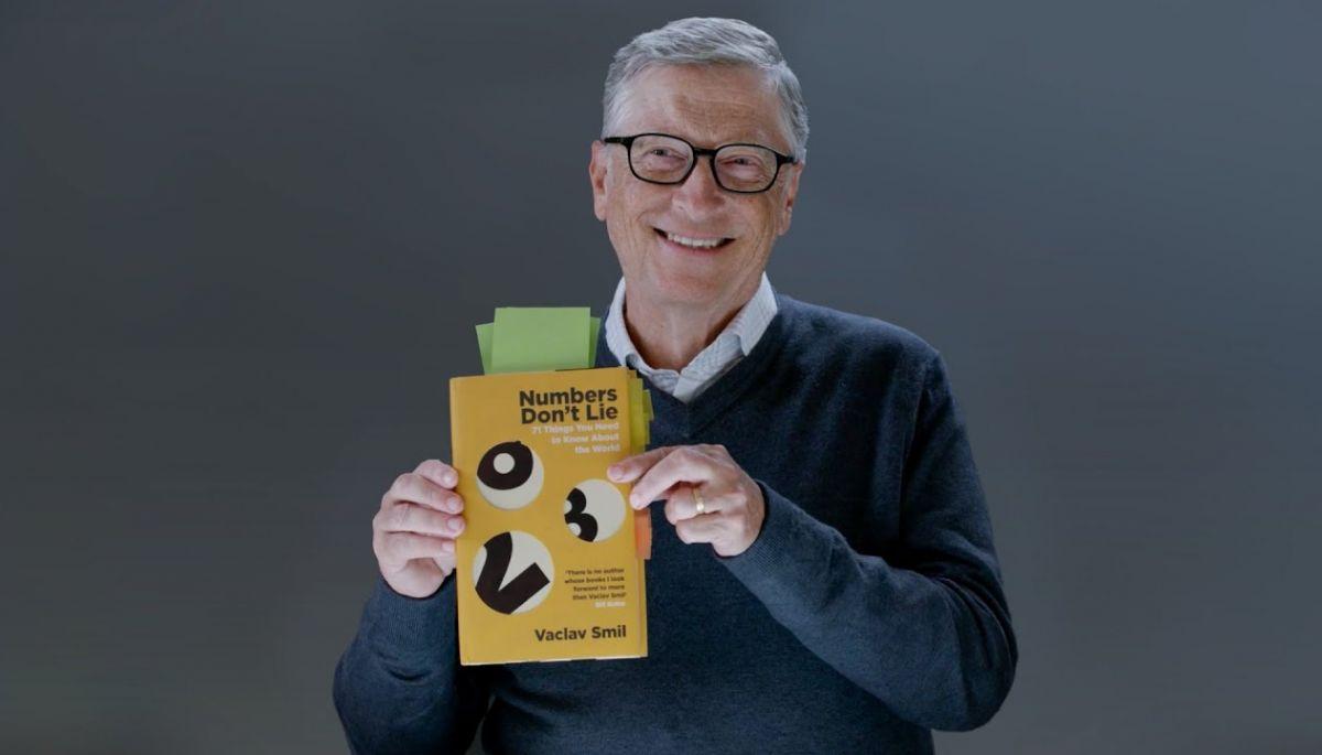 Білл Гейтс порадив «найдоступнішу» книгу свого улюбленого автора