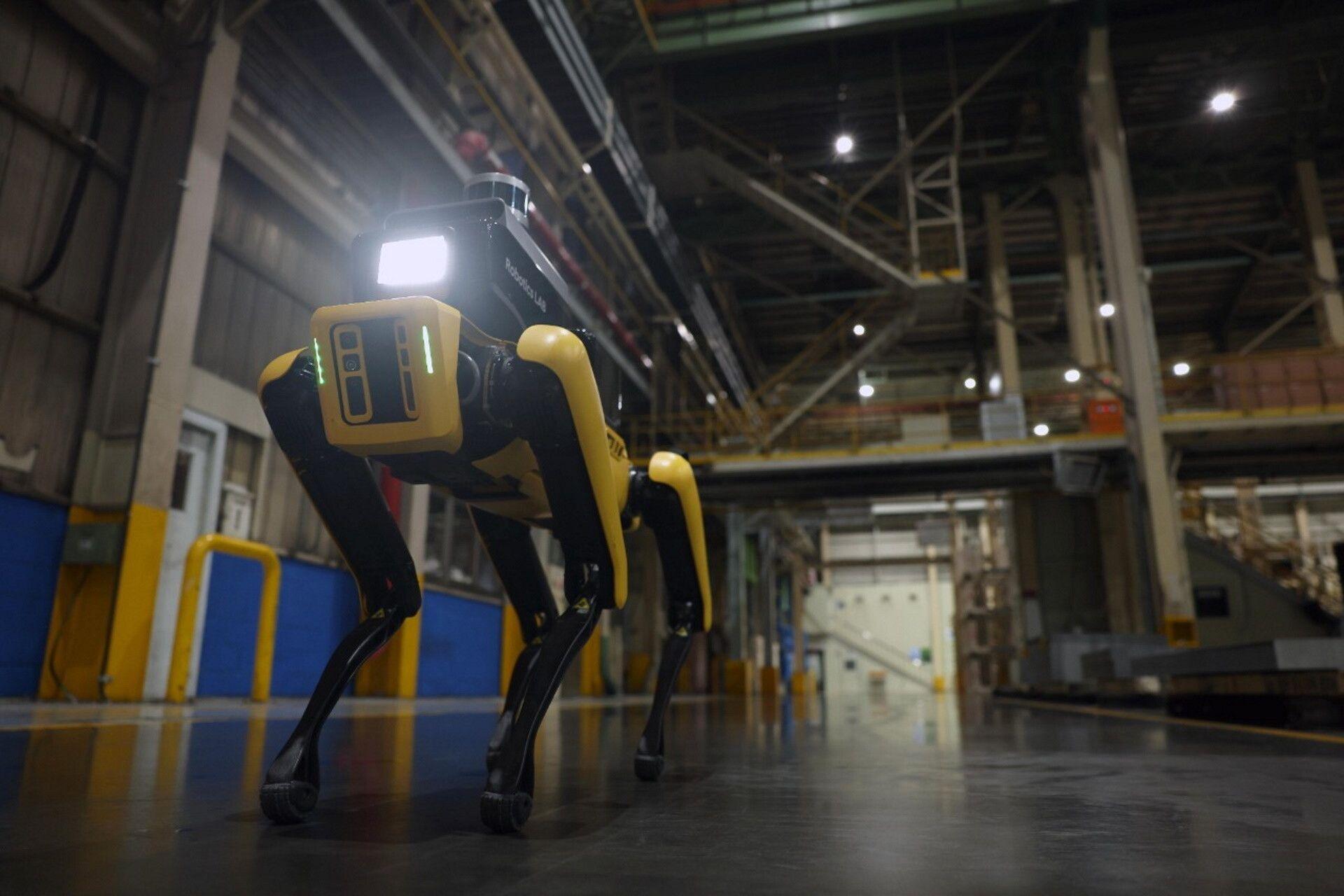 Робособаки Boston Dynamics охороняють заводи Hyundai замість людей (ВІДЕО)