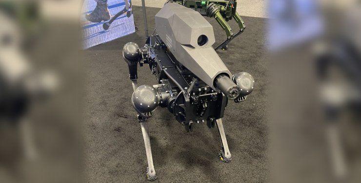В США показали бойового робопса з автономною снайперською установкою. І це не Boston Dynamics (ВІДЕО)