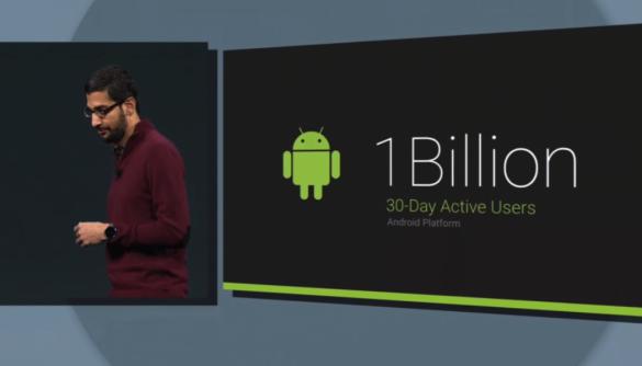 Android подолав позначку в 1 мільярд активних користувачів щомісяця