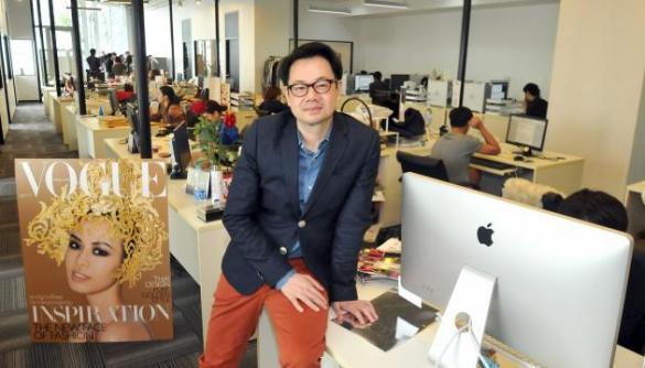 Тайський Vogue очолив перший чоловік-головред в історії видання